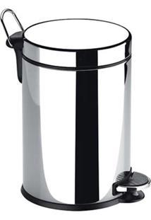 Lixeira Em Inox Com Pedal E Balde 12 Litros 3040-203 Brinox