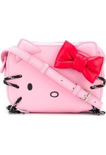 Balenciaga Bolsa Transversal Kitty Xs - Rosa