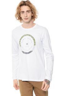 Camiseta Hang Loose Silk Army Branca