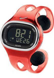 Relógio Nike Imara Kylo Cee Vermelho Translucido