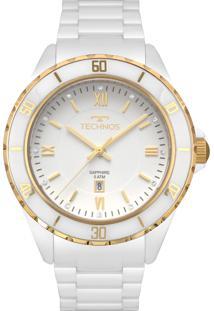 R  611,10. Eclock Relógio 2015 Analógico Feminino Technos Clock Ceramic ... 9e746e4f5a