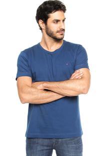 Camiseta Aramis Regular Fit Lisa Azul