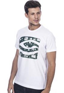 Camiseta Long Island Tec Masculina - Masculino-Branco