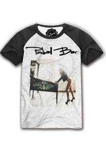 Camiseta Raglan The Garage Custom Tees Pimbal Girl