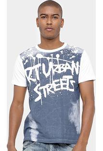 Camiseta Eagle Brasil Urban Masculina - Masculino