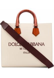 Dolce & Gabbana Bolsa Tote Edge - Neutro