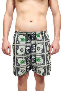 Short Kevland One Dolar Verde