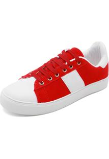 bb5f6aedfb0 Tênis Fiveblu Vermelho feminino
