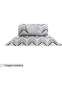 Conjunto De Cobre-Leito Home Design King Size- Branco & Santista