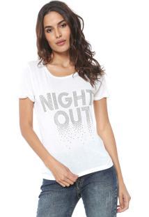 Camiseta Acostamento Rock Fashion Off-White