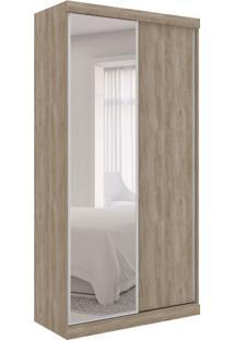Guarda-Roupa Closet Modulado Virtual I Com Espelho 2 Pt 6 Gv Cedro Amadeirado
