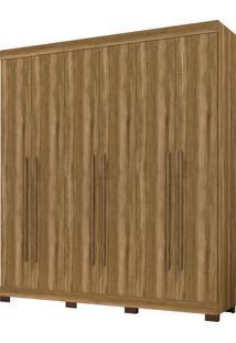 Guarda-Roupa Polo 6 Portas Amendoa Albatroz