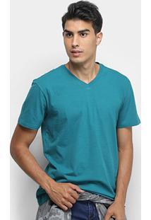 Camiseta Reserva Básica V - Masculino-Verde