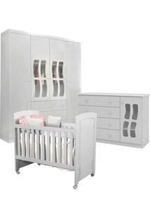 Dormitório Letícia New Com Berço Cléo Branco