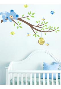Adesivo Decorativo Stixx Descanso Do Ursinho Azul
