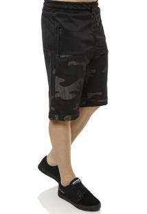 Bermuda De Tecido Masculina Camuflada Radical Trip - Masculino
