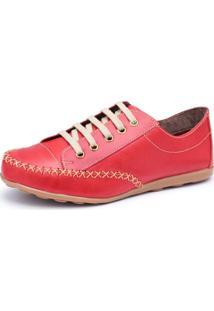 674454448 Sapatênis Eva Vermelho feminino | Shoelover