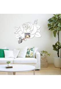 Espelho Vns Decorativo Acrílico Rosa
