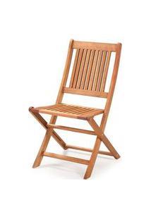 Cadeira Dobravel Primavera Sem Bracos Stain Jatoba - 34820 Jatoba