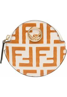 Fendi Porta-Moedas Com Estampa De Logo Ff - Neutro