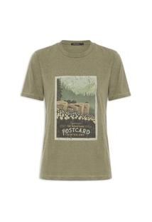 Camiseta Feminina Postcard - Verde
