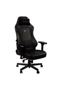 Cadeira Gamer Noblechairs Hero, Couro, Black - Nbl-Hro-Rl-Bla