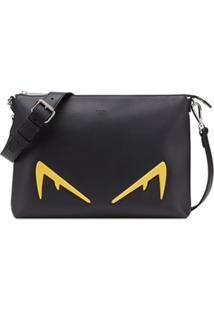Fendi Bolsa Carteiro Bag Bugs - Preto