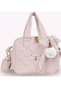 Bolsa Térmica Organizadora - Ballet - Rosa Quartz - Masterbag