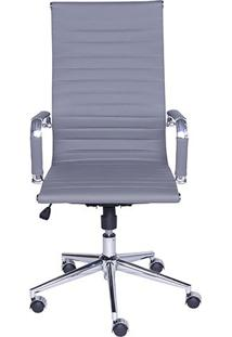 Cadeira Office Eames Esteirinha- Cinza- 110X61X46,5Cor Design