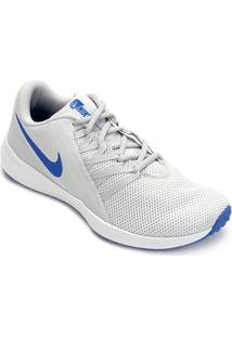 8c652591f + info Tênis Nike Varsity Compete Trainer Masculino - Masculino-Off White +Azul