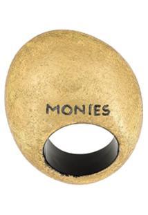Monies Anel Oversized - Metálico