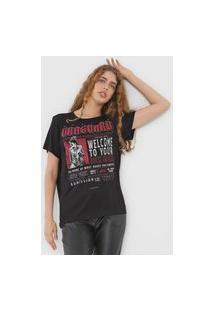 Camiseta Colcci Vanguard Preta
