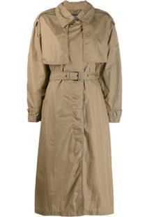 Isabel Marant Trench Coat Oversized - Verde