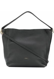Furla Grace Shoulder Bag - Preto