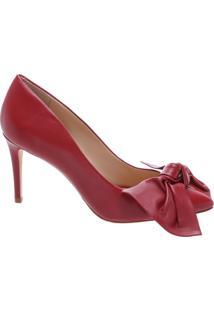 Scarpin Big Bow Tango Red | Schutz
