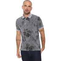 46b2c3b7ee0 Camisa Pólo Aramis Cinza masculina