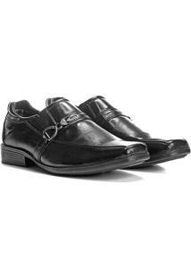 Sapato Social Couro Social Walkabout Masculino - Masculino-Preto