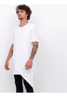Camiseta Assimétrica Alongada