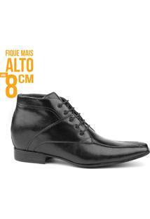 Fique Mais Alto Elevel Masculino Milano - Masculino-Preto