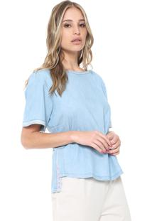 12a264e68e ... Blusa Jeans Morena Rosa Dreaming Azul