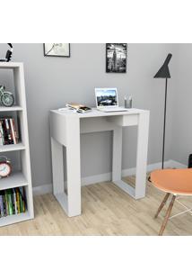 Escrivaninha Com 1 Gaveta Smart Bliv - Branco