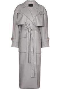 Anouki Oversize Trench Coat - Cinza