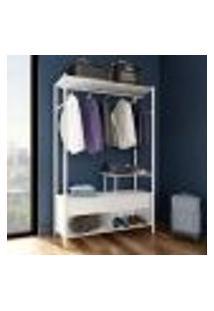 Guarda-Roupa Closet Modulado Castellar Branco
