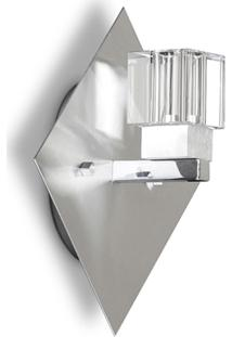 Arandela Com Cristal Ard 9201 - Jd Molina - Escovado