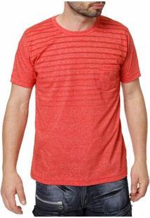 Camiseta Manga Curta Masculina Manobra Radical Vermelho