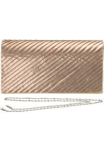Bolsa Feminina De Mão Melamel - Fs2 Dourado 01