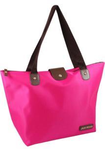 Bolsa Dobrável Tam. G Lisa Jacki Design Essencial I Pink - Tricae