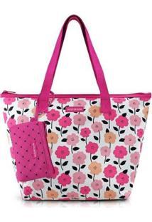 Bolsa Jacki Design Doce Encanto Feminina - Feminino-Pink