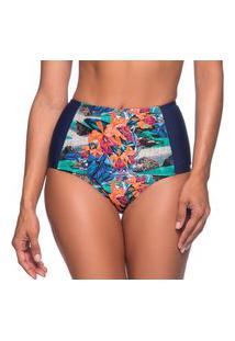 Calcinha Hot Pants Redução De Medidas Noronha Floral Essencial La Playa 2019