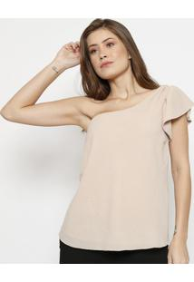 Blusa Lisa Assimã©Trica- Begespezzato